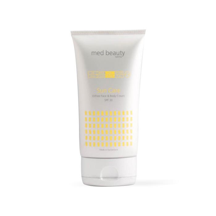 Suncare face body oilfree SPF30 Kosmetik Studio Basel